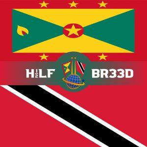 H1/2LF BR33D – GRENADA – TRINIDAD & TOBAGO FLAG