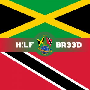 H1/2LF BR33D – JAMAICA - TRINIDAD & TOBAGO FLAG
