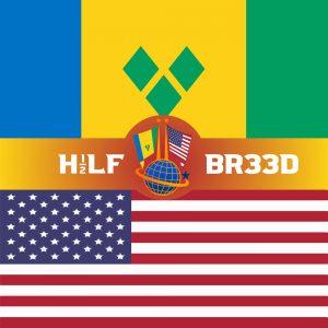 H1/2LF BR33D – ST. VINCENT - USA FLAG